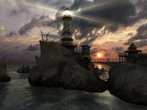 اسکرین سیور3D Lighthouse Point