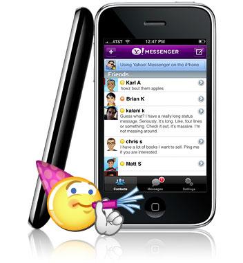 دانلود نسخه موبایل Yahoo! Messenger