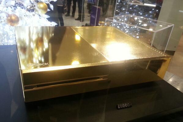 ایکس باکس Xbox one از جنس طلا !!,ایکس باکس وان,ایکس باکس,اخبار ایکس باکم,اخبار ایکس باکس وان,ایکس باکس 1,اخبار ایکس باکس 1,xbox,xbox 1,xbox one