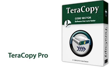 نرم افزار افزایش سرعت کپی فایل ها TeraCopy Pro