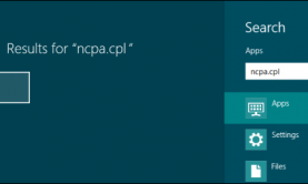 open-ncpa.cpl-on-windows-8