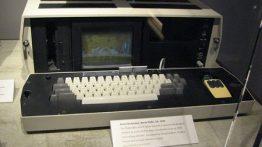 تصاویر اولین لب تاپ های دنیا !!,موزه لبتاپ,لب تاپ های اولیه,اولین لب تاپ ساخته شده,لب تاپ های غجیب و غریب,لب تاپ های غول پیکر,لبتاپ های نخستین