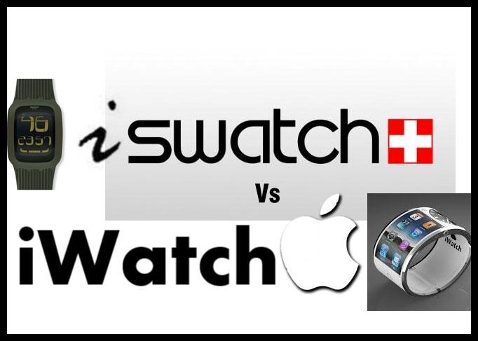 وقتی سواچ در مقابل اپل قرار می گیرد !!,swatch,iwatch,iswatch,درباره ساعت اپل,ساعت اپل,اپل,اخبار ساعت اپل,آی واتچ,آی واچ اپل