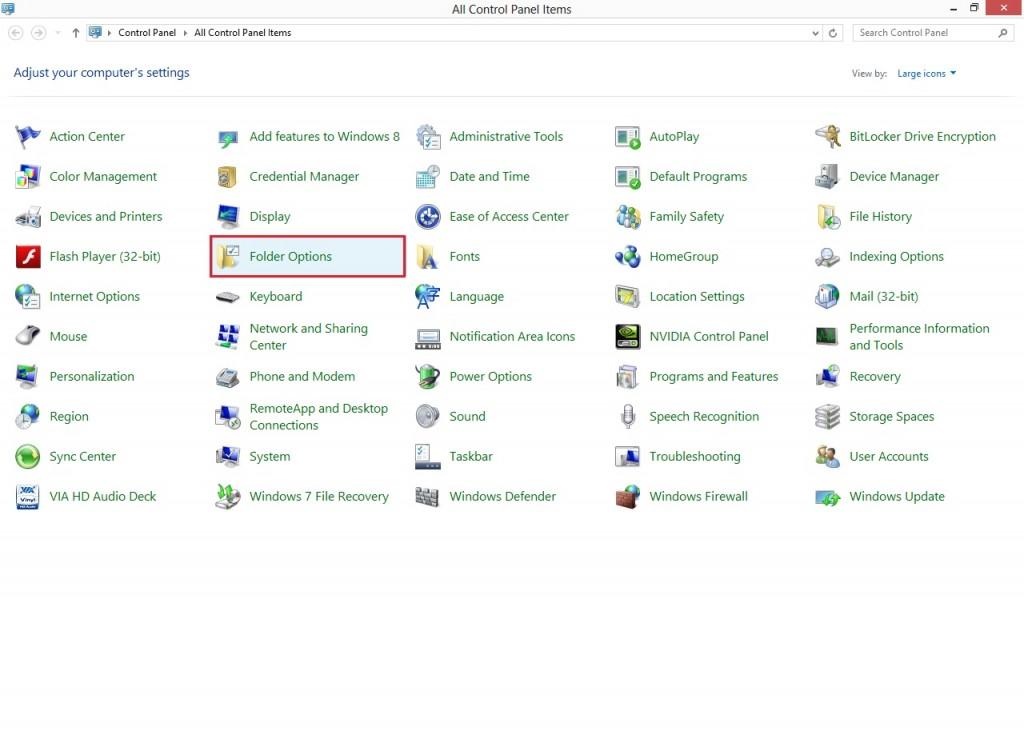 چگونه فرمت فایل ها را در فضای ویندوز به نمایش درآوریم ؟