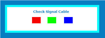 check signal three squares