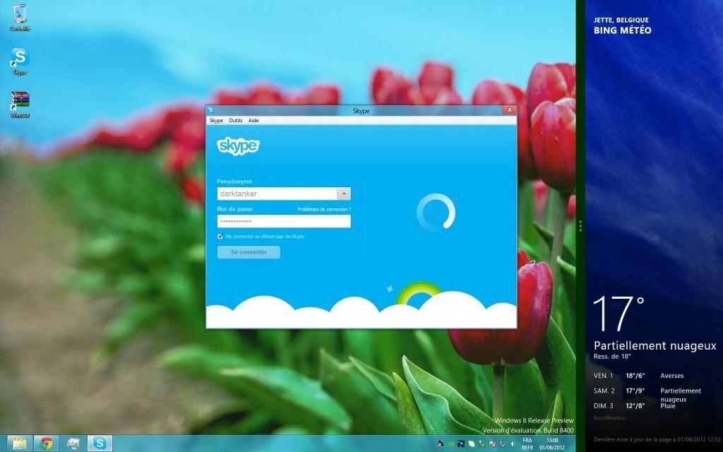 فعالسازی قانونی ویندوز 8 از طریق اسکایپ