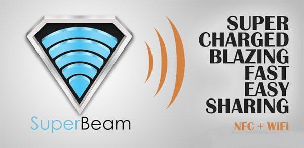 آموزش استفاده از Su-per beam  (اشتراک فایلها) در کامپیوتر