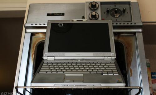 پخت لپ تاپ که باعث درست شدن آن شد