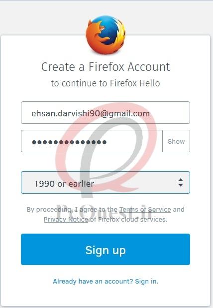 آموزش چت تصویری با Mozilla FireFox