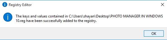 بازگشت Windows Photo Viewer به ویندوز 10