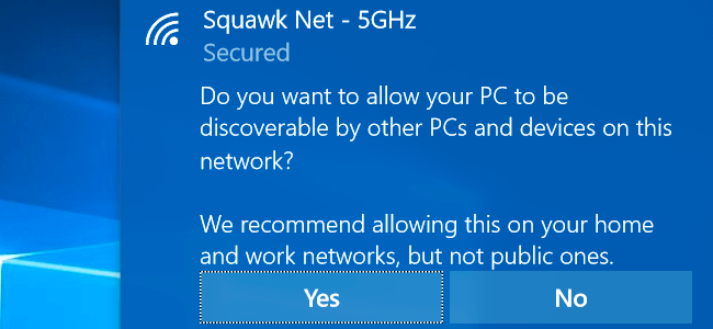 Differences network (Public) and (Private) What is the Windows (1)