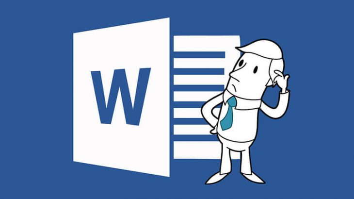 disrupted copy text in Word