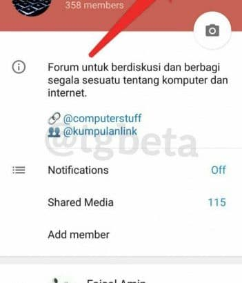 Updating the Beta Telegram with new features (1)